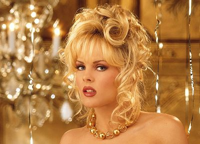 women, Playboy magazine, playmates, Victoria Fuller, bangs - random desktop wallpaper