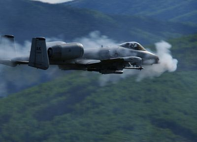 aircraft, military, Thunderbolt, United States Air Force, vehicles, Avenger (aircrafts), Avenger (guns), A-10 Thunderbolt II, air force - related desktop wallpaper