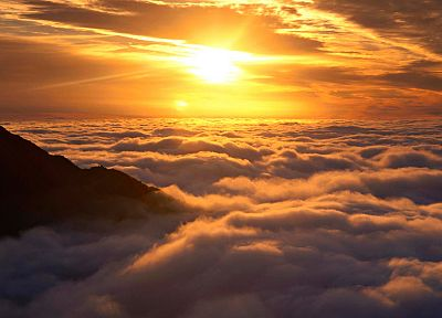 clouds, landscapes, dawn, New Zealand, skyscapes - related desktop wallpaper