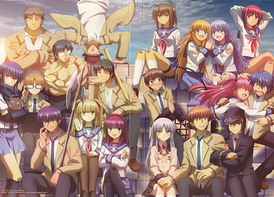 Angel Beats! - random desktop wallpaper
