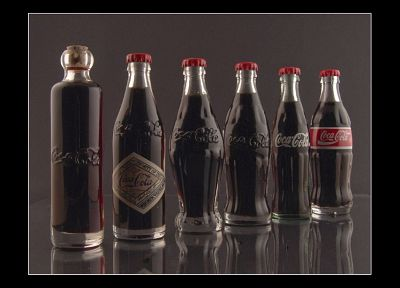 vintage, bottles, Coca-Cola - duplicate desktop wallpaper