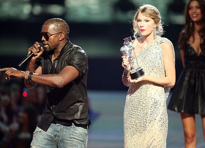 blondes, Taylor Swift, celebrity, MTV, singers, Kanye West, Video Music Awards - random desktop wallpaper