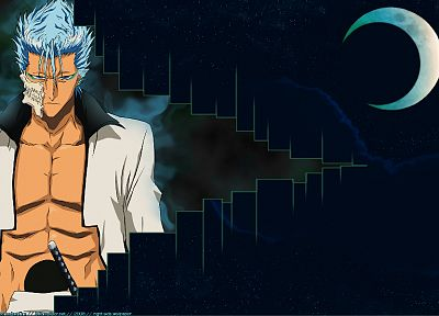 Bleach, Espada, Grimmjow Jaegerjaquez, crescent - related desktop wallpaper