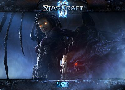 Zerg, Sarah Kerrigan Queen Of Blades, StarCraft II - random desktop wallpaper