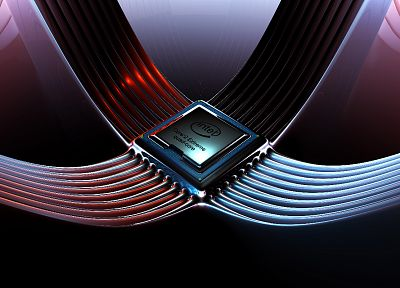 Intel, core 2 quad - related desktop wallpaper