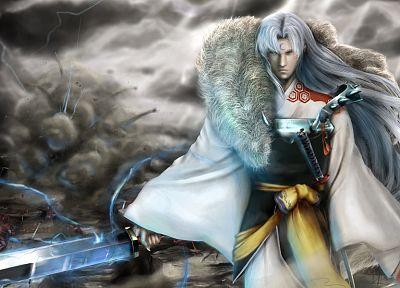 Inuyasha, anime, Sesshomaru - related desktop wallpaper