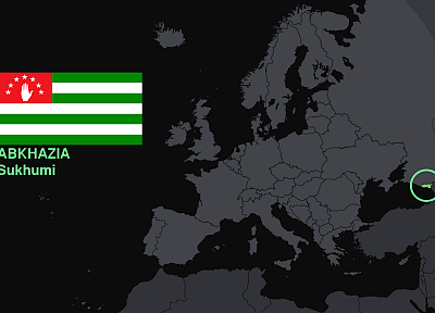 flags, Europe, maps, knowledge, countries, useful, Abhazia - random desktop wallpaper