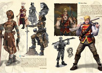 video games, artwork, Fable 3 - random desktop wallpaper