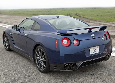 cars, Nissan GT-R R35 - random desktop wallpaper