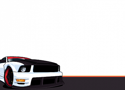 thinking, vehicles, Ford Mustang - random desktop wallpaper