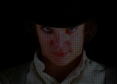 Clockwork Orange, Alexander Delarge - desktop wallpaper