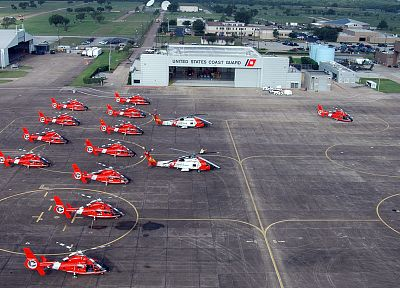 helicopters, coast guard, vehicles - desktop wallpaper