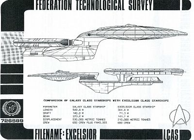 Star Trek, Star Trek schematics - random desktop wallpaper