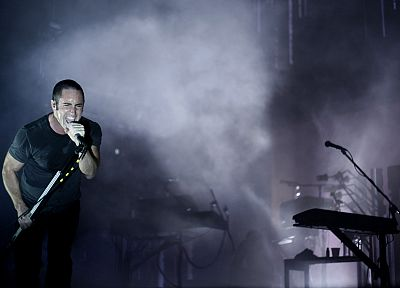 Nine Inch Nails, music, Trent Reznor, music bands - related desktop wallpaper