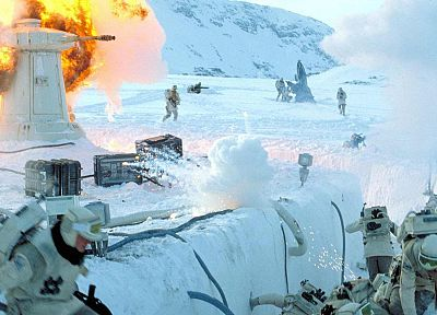 Star Wars, Hoth - desktop wallpaper