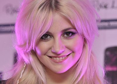 blondes, women, Pixie Lott - desktop wallpaper