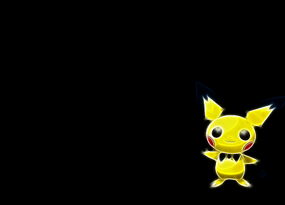 Pokemon, Pichu - random desktop wallpaper