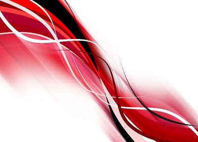 abstract, red - random desktop wallpaper