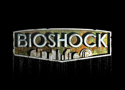 BioShock, simple background - random desktop wallpaper