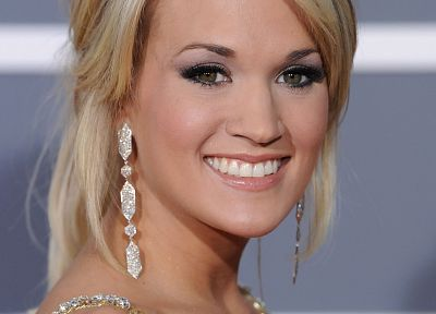 blondes, women, Carrie Underwood, faces - related desktop wallpaper