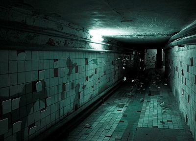 shadows, underground, tiles - random desktop wallpaper