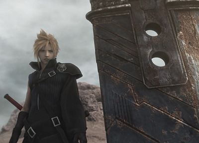 Final Fantasy VII Advent Children - random desktop wallpaper