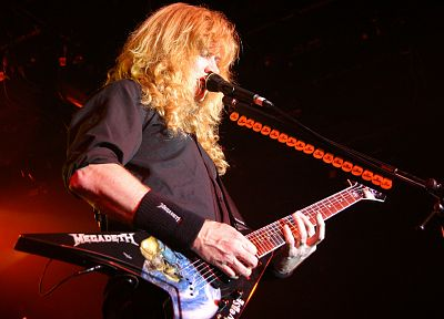 Megadeth, Dave Mustaine - random desktop wallpaper