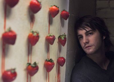 movies, actors, strawberries, Across the Universe - desktop wallpaper