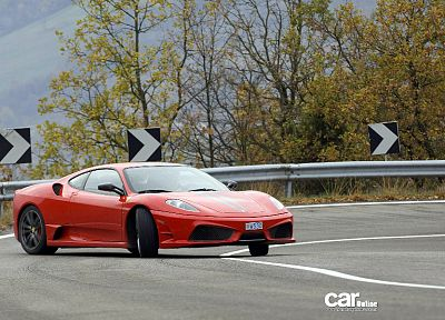 cars, Ferrari F430, drifting - desktop wallpaper