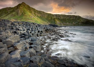 nature, Ireland, Giant's Causeway - desktop wallpaper