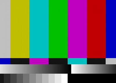 TV, test pattern - random desktop wallpaper