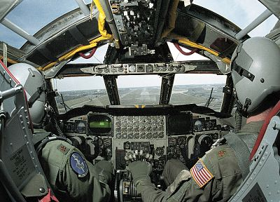 aircraft, military, cockpit, B-52 Stratofortress - related desktop wallpaper