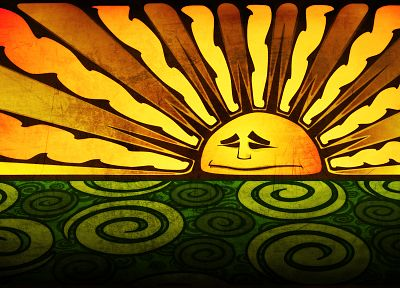 Sun - random desktop wallpaper