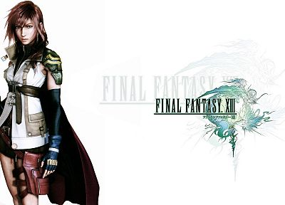 Final Fantasy, video games, Final Fantasy XIII, Claire Farron - desktop wallpaper