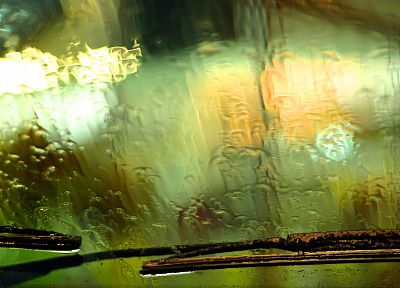 rain, rain on glass - random desktop wallpaper