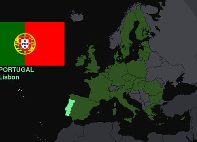 flags, Europe, Portugal, maps, knowledge, countries, useful - random desktop wallpaper