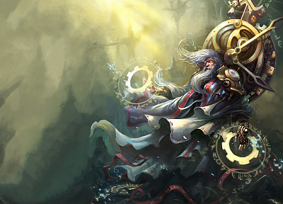 League of Legends, Zilean the Chronokeeper - random desktop wallpaper