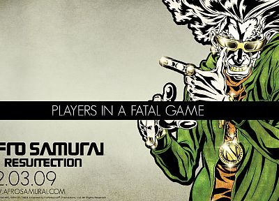 Afro Samurai - random desktop wallpaper
