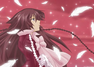 feathers, Pandora Hearts, anime, Alice (Pandora Hearts), anime girls - desktop wallpaper