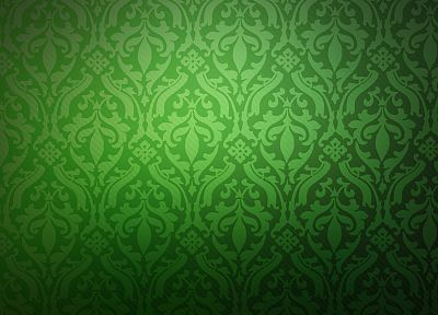 green, minimalistic, pattern - desktop wallpaper