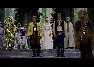 Star Wars, Luke Skywalker, Han Solo, Chewbacca, Leia Organa - related desktop wallpaper