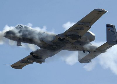 aircraft, military, planes, vehicles, A-10 Thunderbolt II - related desktop wallpaper