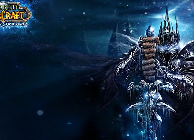 video games, World of Warcraft, Arthas, Frozen Throne, Wrath of The Lich King, Warcraft - random desktop wallpaper