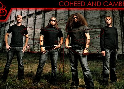music, Coheed and Cambria, music bands - random desktop wallpaper