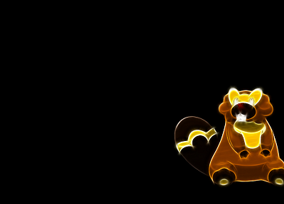 Pokemon, black background, bibarel - related desktop wallpaper