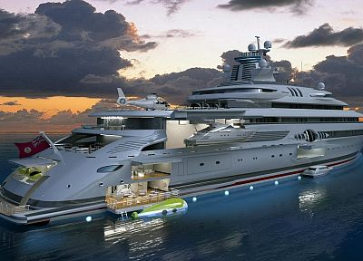 water, clouds, ships, vehicles, yachts - related desktop wallpaper