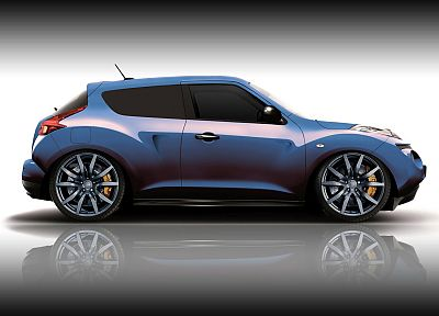 cars, DeviantART, Nissan, digital art, tuning, side view, Nissan Juke - related desktop wallpaper