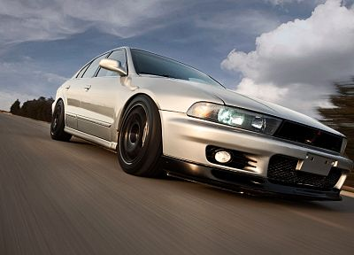 cars, Mitsubishi, vehicles, Mitsubishi Galant - related desktop wallpaper