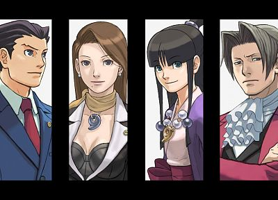 Phoenix Wright - random desktop wallpaper