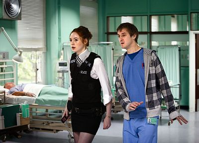 Karen Gillan, Amy Pond, Doctor Who, Rory Williams - related desktop wallpaper